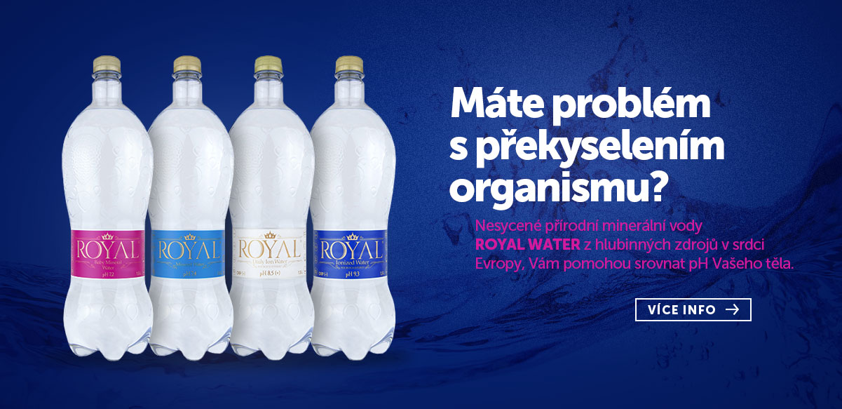 Voda Royal water